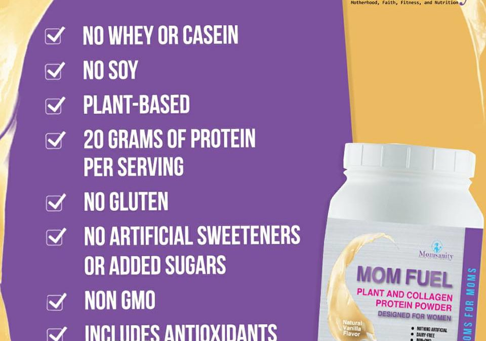 Mom Fuel: A plant based protein powder that actually tastes great